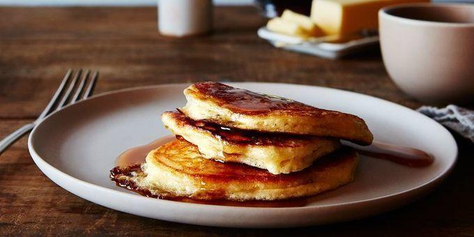 Have You Heard Of Paula Deen S New Show Pancake Recipe Buttermilk Buttermilk Pancakes Food