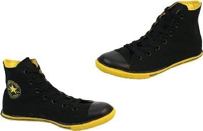 77a37bc34377f4 converse Converse - All Star Slim Hi - Black   Yellow