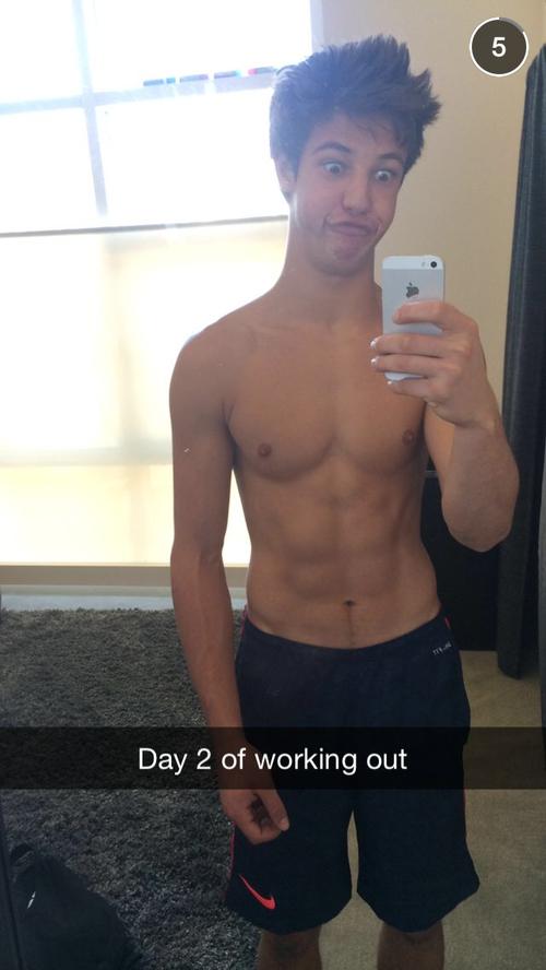 Cameron dallas snapchat
