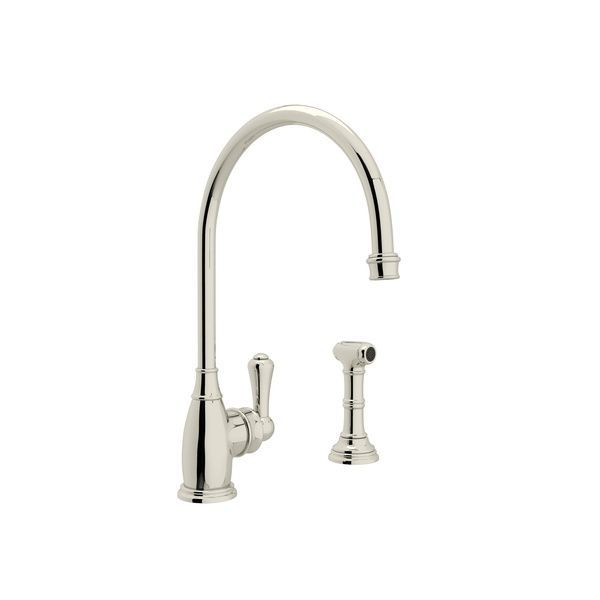Rohl Kitchen Faucets Perrin Rowe Georgian Era Single