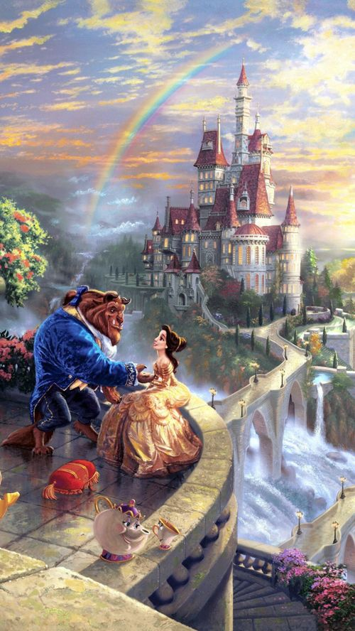Imagen De Beauty And The Beast Disney And Wallpaper Cute