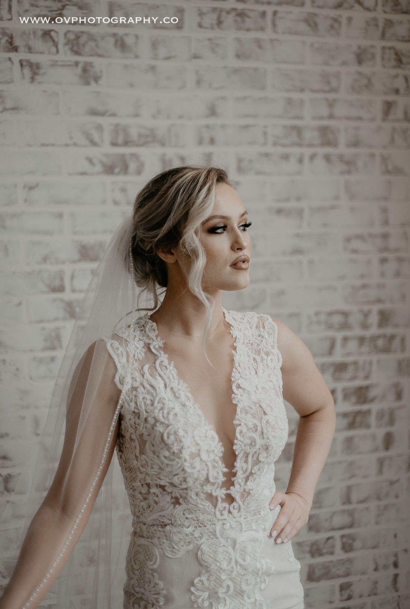 bridal hair & makeup | image by ov photography | wedding