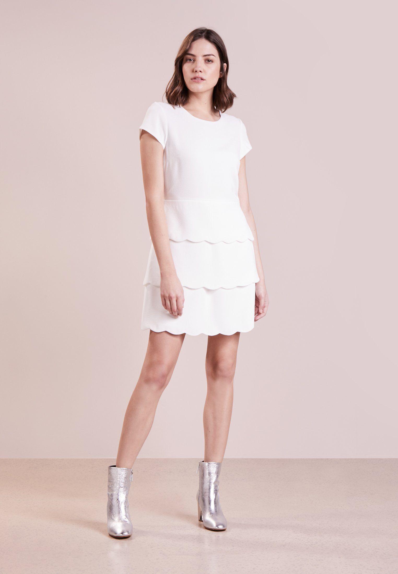 Club Monaco Colby Robe De Soiree White Zalando Fr Robe Blanche Idees Vestimentaires Robe D Ete