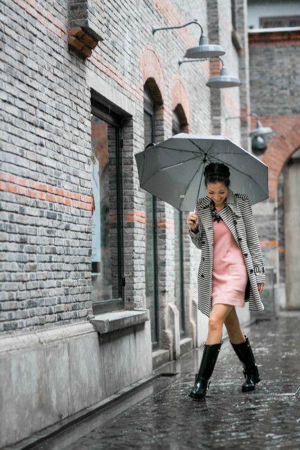 10 Outfits De Lluvia Que No Te Haran Perder El Estilo Regen