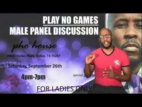 """ReCap: PNG Male Panel...  Plus Size Woman,  CoHabitation, Double Standards'  Check out my ReCap of the """"Play No Games"""" Male Panel Discussion...  Click Below to Watch..."""