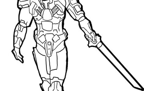 halo reach Coloring Pages | drawing-tv characters | Pinterest