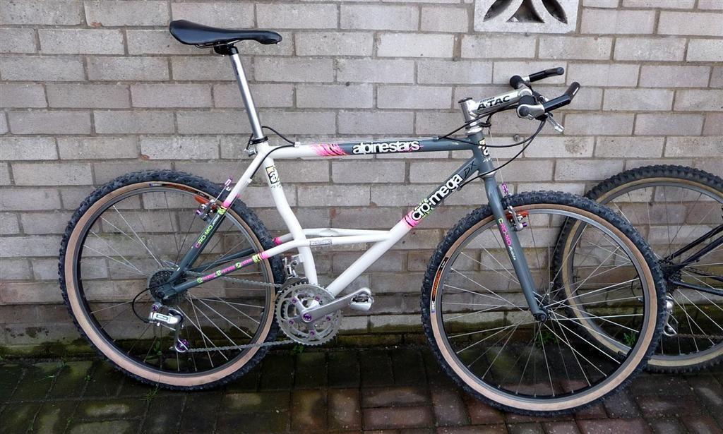 1991 Alpinestars Cro Mega Vintage Mountain Bike Alpinestars Bicycle