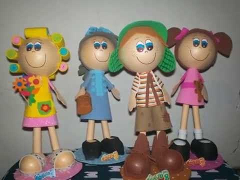 Fofuchas De La Vecindad Del Chavo Del 8 Mickey Mouse Mickey Dolls