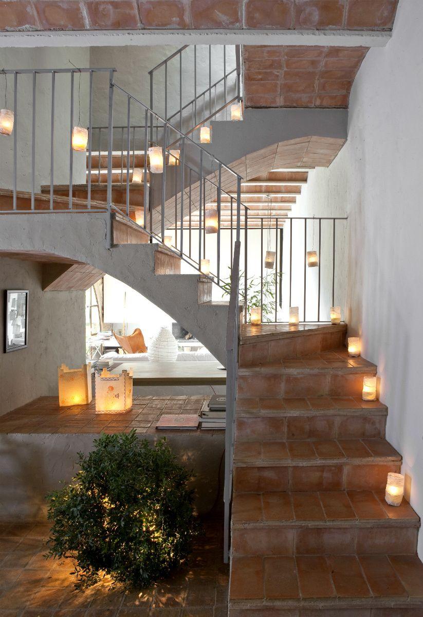 Les hamaques escaleras decoracion escaleras hotel for Decoracion de casas rurales con encanto