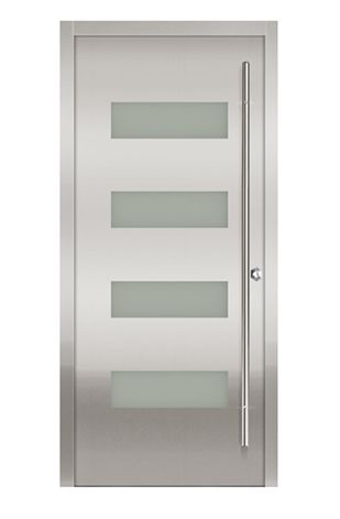 Imagen de for Puertas principales metalicas modernas