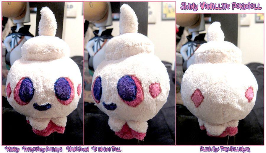 -Shiny Vanillite Pokedoll Plush- by PurplePeepBits on deviantART
