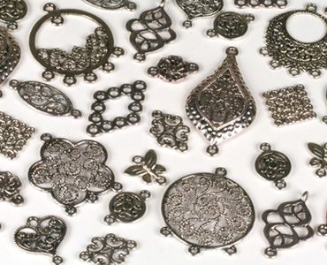 Metal Components & Connectors - Beads | Bead Supplies | Wholesale beads | Jewellery Findings | Swarovski | Creative Beadcraft