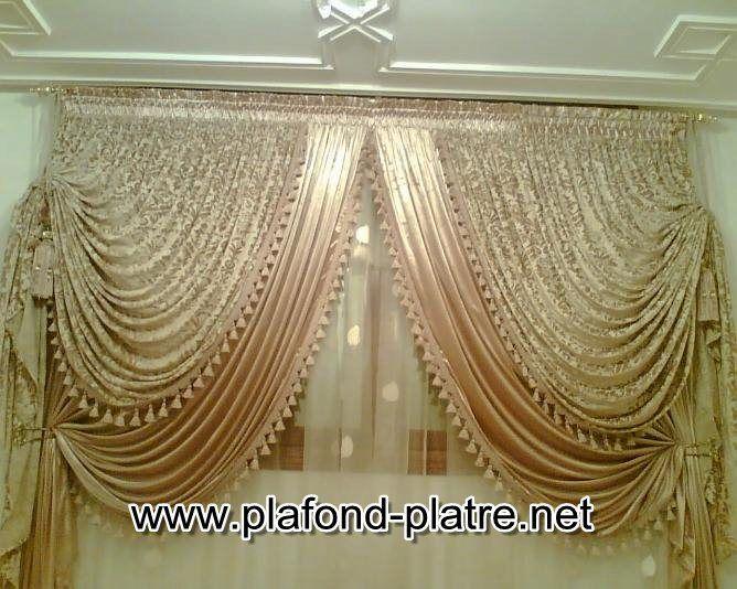 Rideaux De Salon Marocain Oriental Home Decor Plafond Design Decor