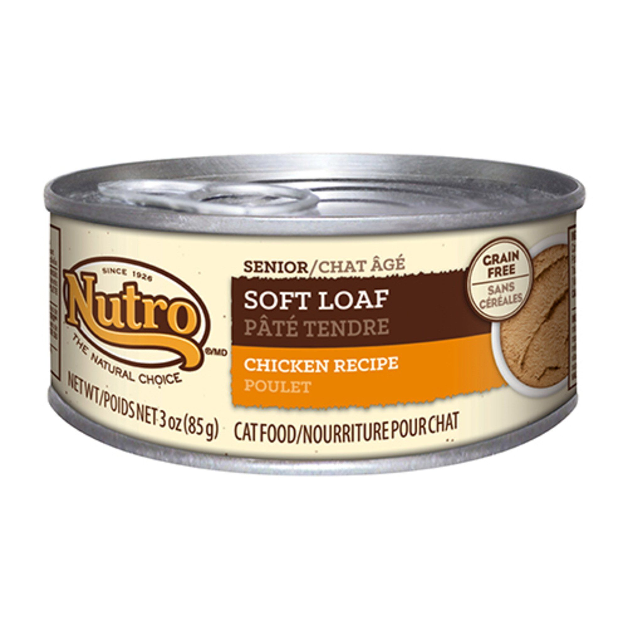 Nutro Wholesome Essentials Chicken Recipe Soft Loaf Canned Senior