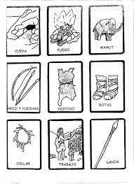 Resultado de imagen de fichas prehistoria que sabemos