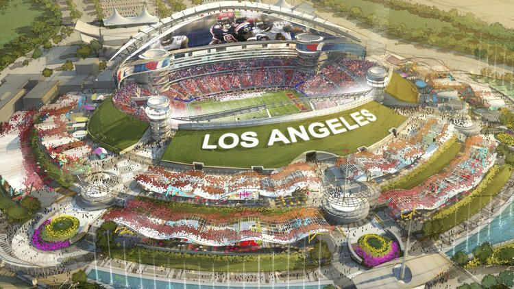 Owner Of St Louis Rams Plans To Build Nfl Stadium In Inglewood Nfl Stadiums Nfl Stadium
