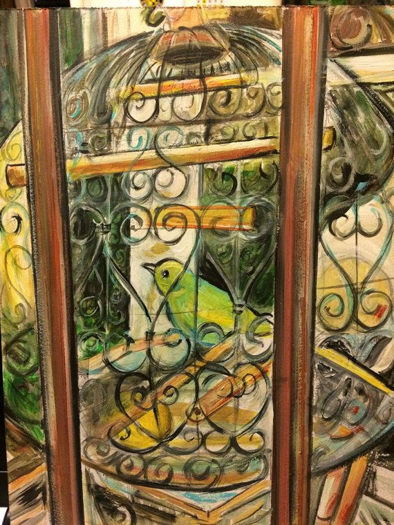 The Birdcage   Arles France  Reproduction of by leahreynolds