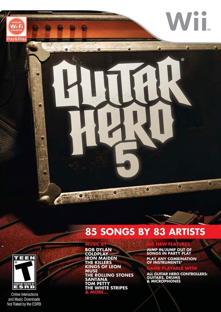Here Are A List Of Cheats And Unlocks For Guitar Hero 5 On The Wii