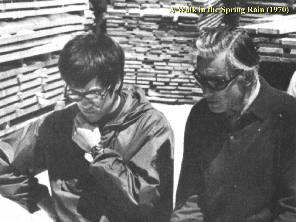Wow Is Bruce Lee With Anthony Quinn From The Movie A Walk In The