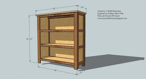Build A Cubby Bookshelf