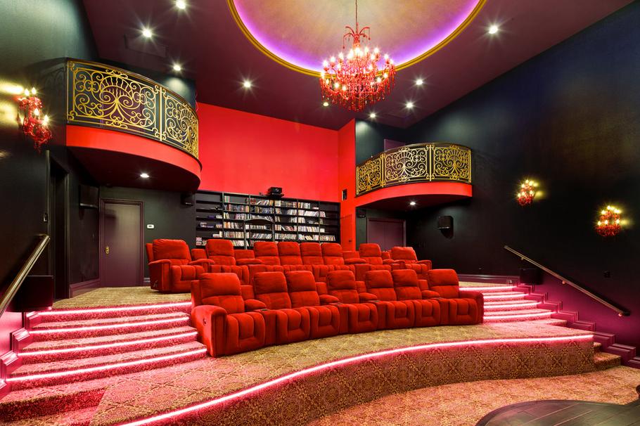 Truly recreating a movie going experience mansions luxuryhomecinemas fitnessraum - Dekoration kino ...