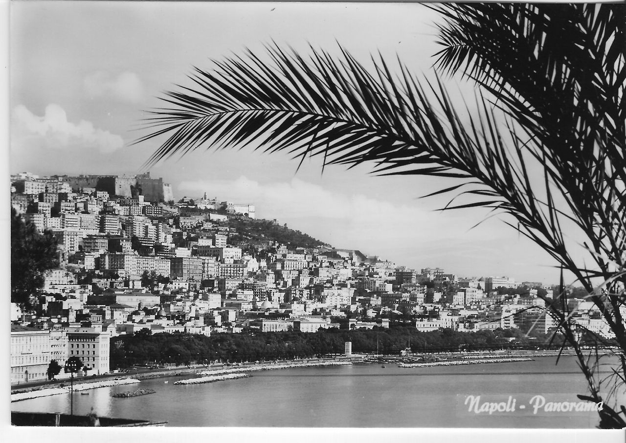 Naples, Italy 1960s - Panorama di Napoli - View of Vomero ...