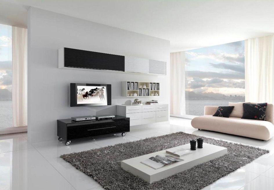 Living Room Modern Living Room Ideas With White Ceramic Tile Floor Livin Minimalist Living Room Design Living Room Design Modern Modern Minimalist Living Room