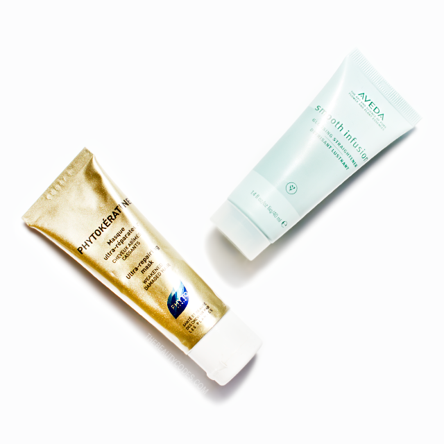 Aveda Smooth Infusion and Phytokeratine by Phyto Paris