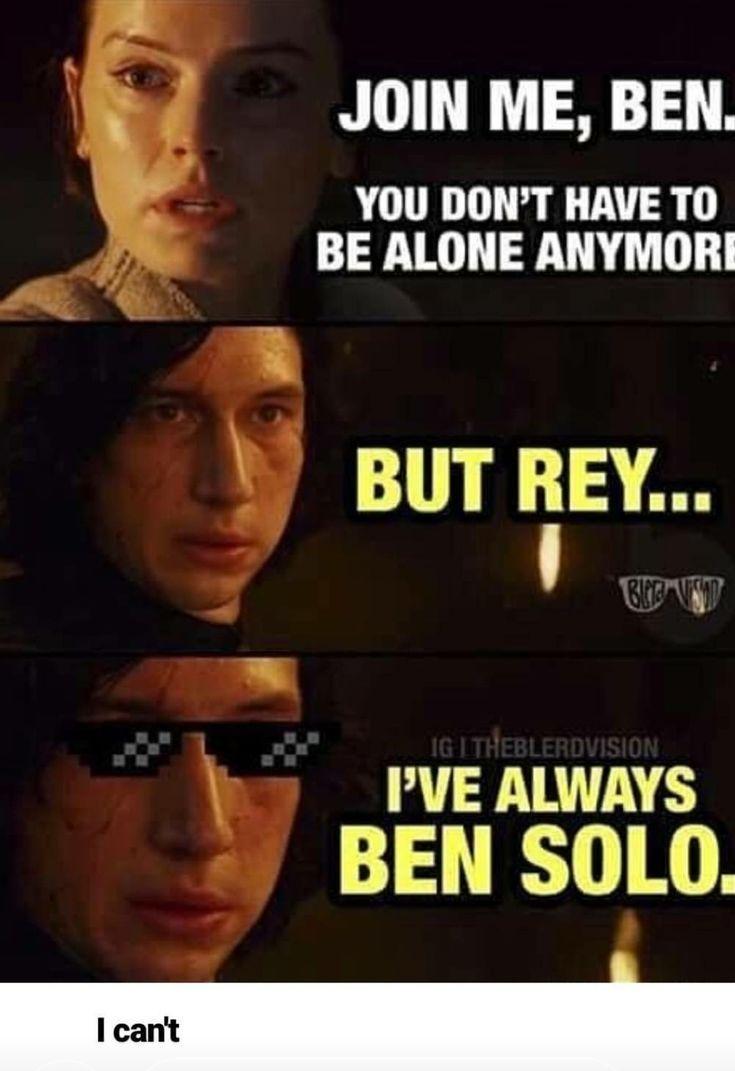Photo of Kylo Ren | Star Wars Gifts 2019 #kyloren Rey:. Kylo: Rey: Fuck you and everythin…