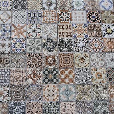 1 M Orientalische Fliese Habib Feinsteinzeug Marokkanisch Bunt Mix Boden Wand Orientalische Fliesen Fliesenaufkleber Orientalisch Feinsteinzeug
