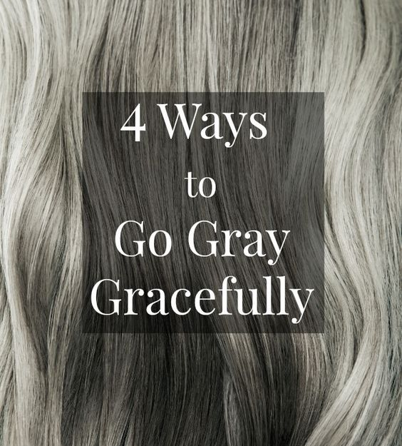 16 Celebrity Hairstyles That Will Inspire You to Go Gray | Natural ...
