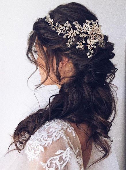 Inspiración de peinado de boda – Ulyana Aster – – Peinados cortos Mujeres – #Ast …