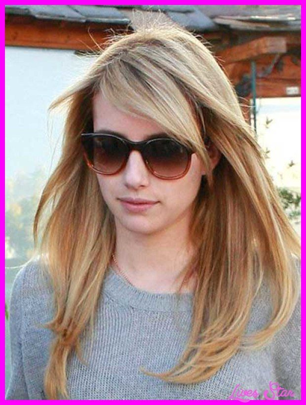 Nice Haircuts For Long Hair Layers And Side Bangs Hairstyles