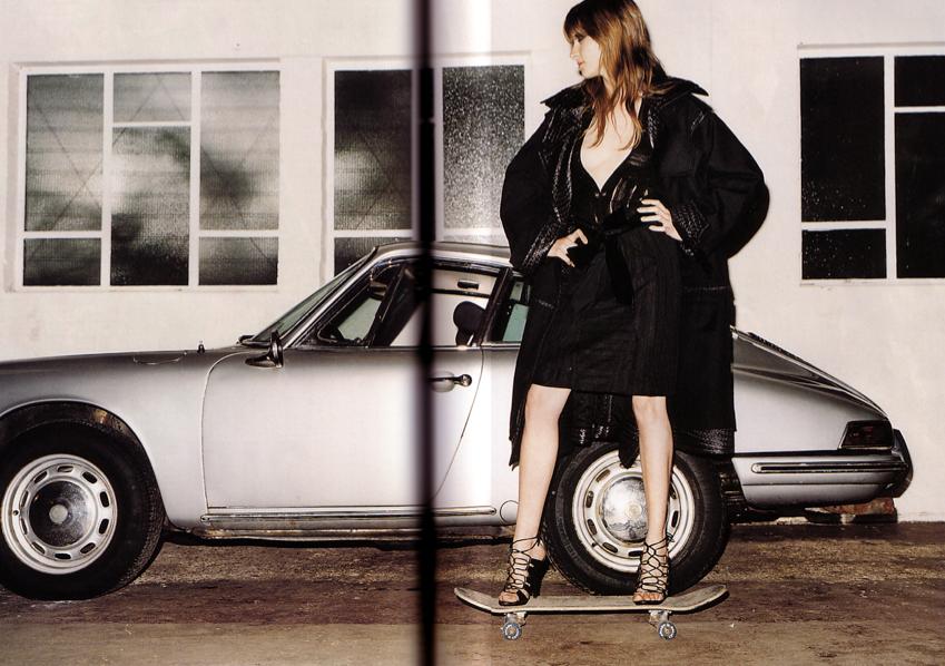 911. Yves Saint Laurent ad in mag