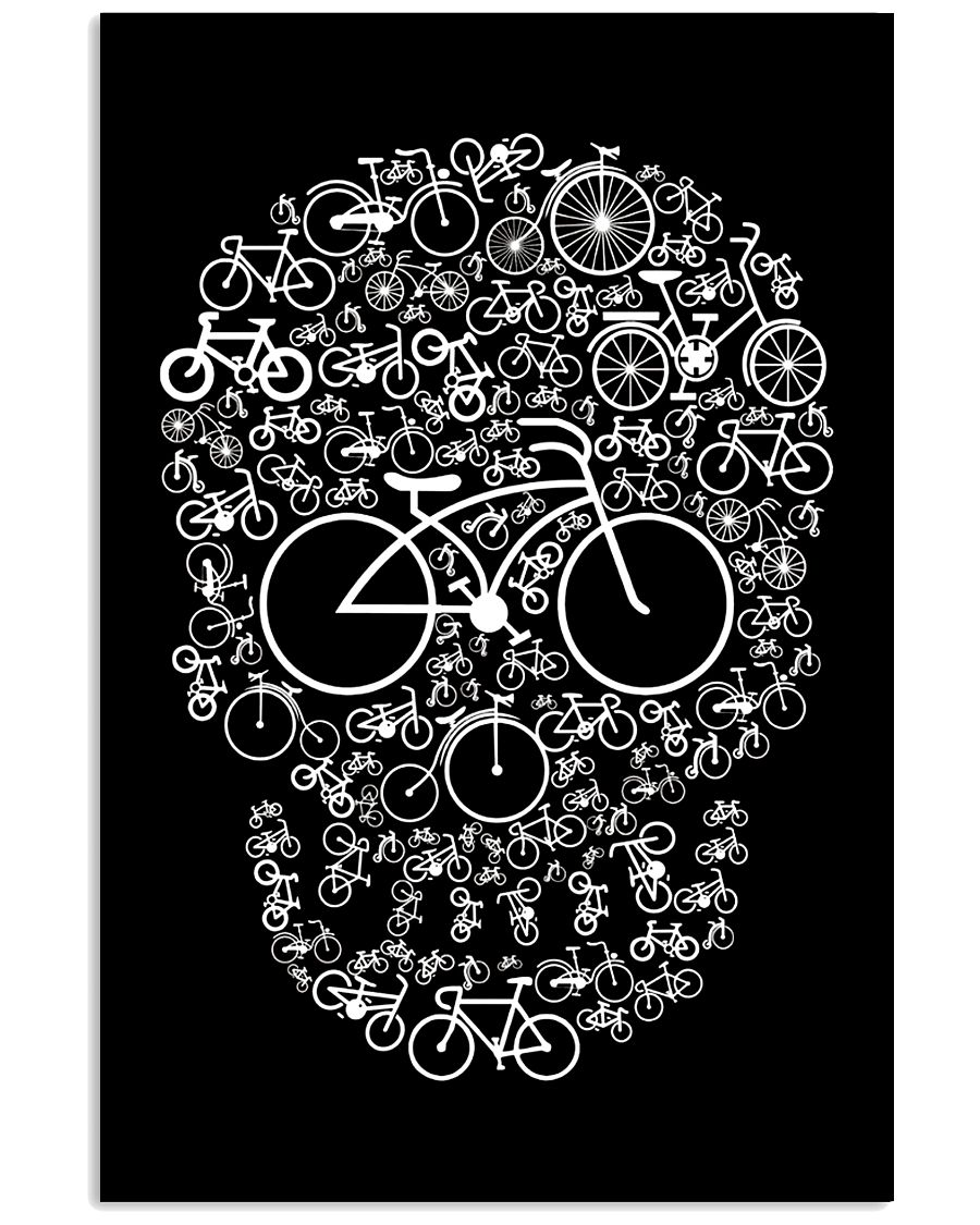 Bicycle Skull T Classic T-Shirt - {size} Black