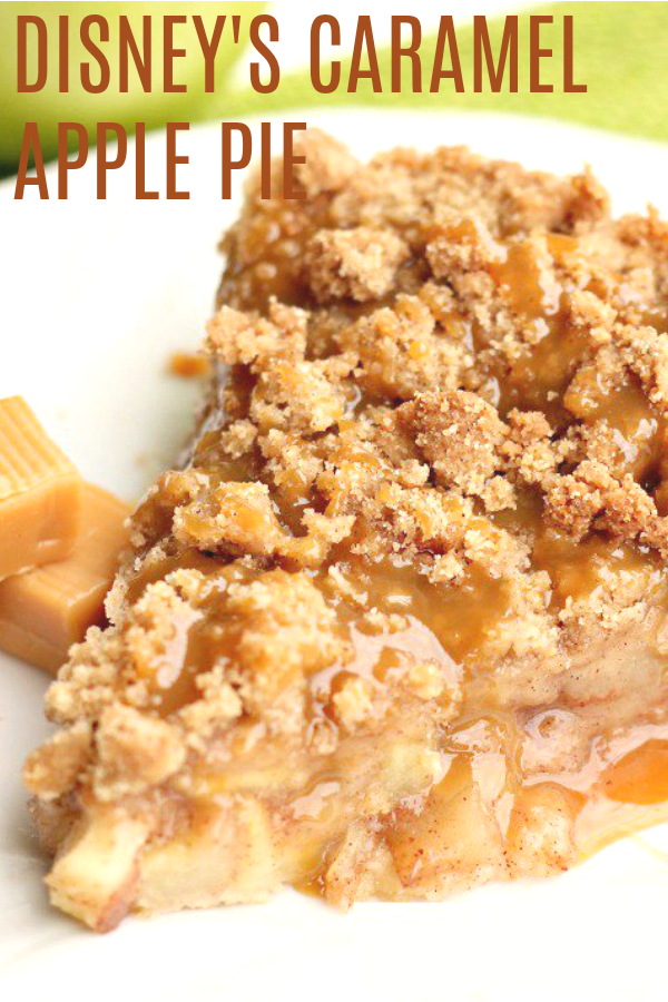 Disney's Apple Caramel Pie Recipe in 2020 Easy pie