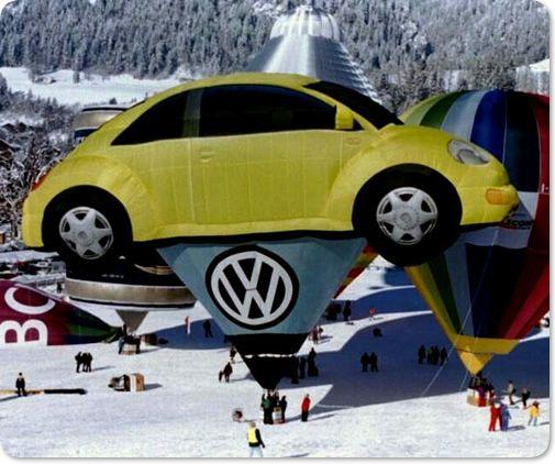 Albuquerque Volkswagen: Volkswagon Beetle Hot Air Balloon