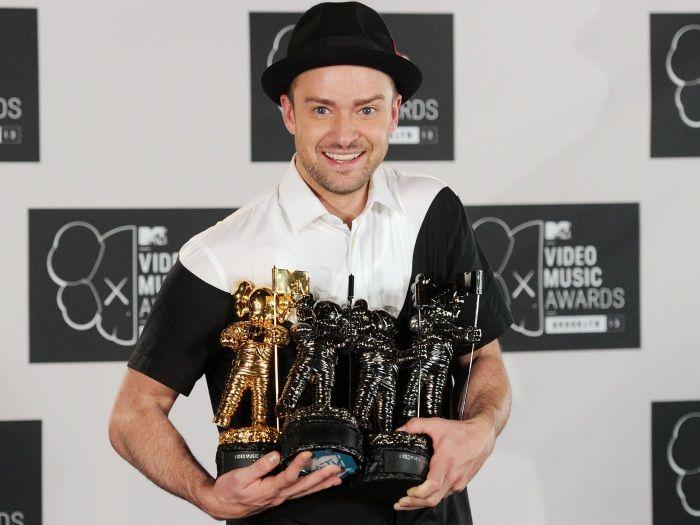 """Justin Timberlake rouba a cena em premiação e é chamado de """"Presidente do Pop"""" - Música - R7"""
