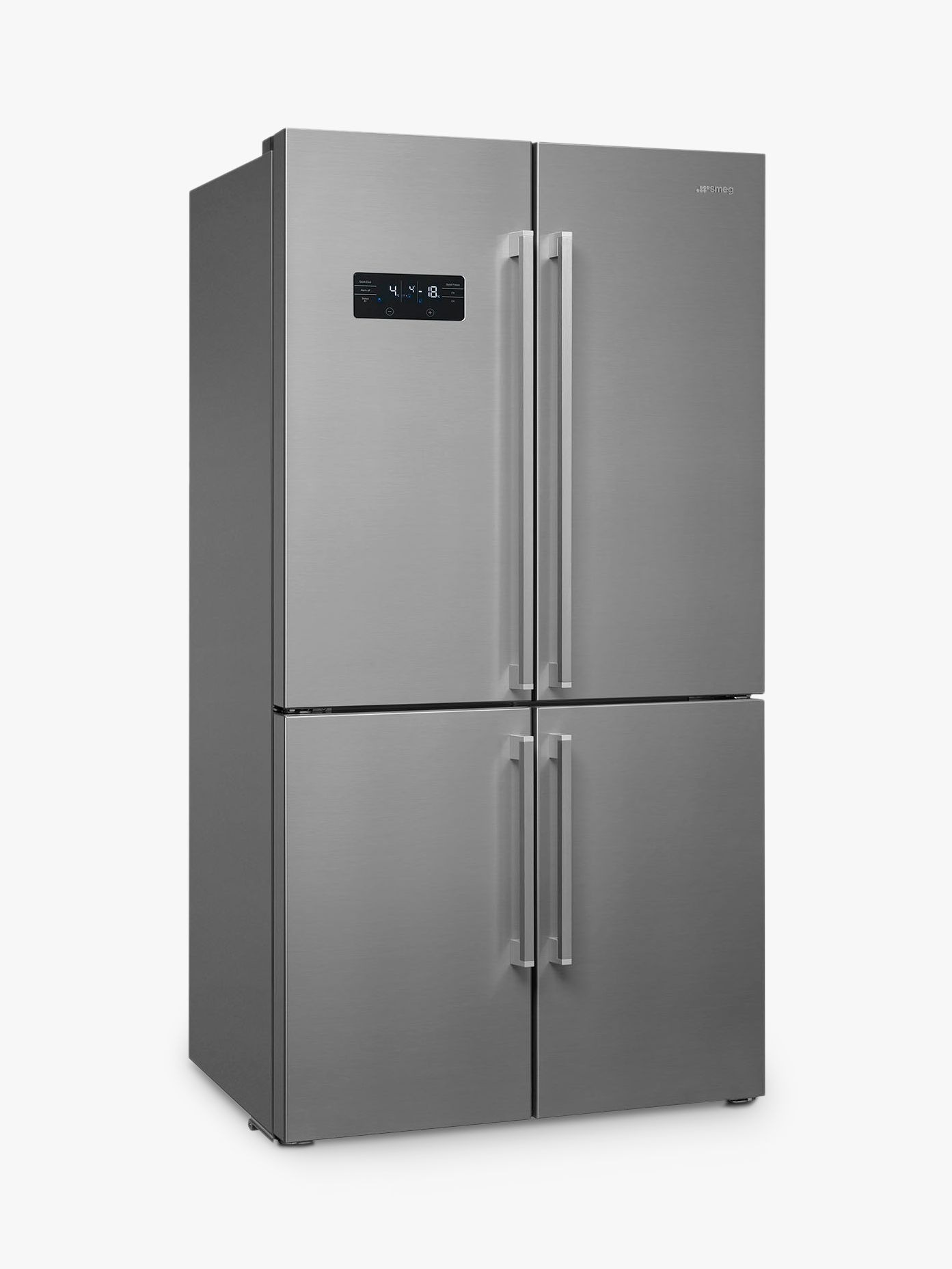 Smeg Fq60x2peai 4 Door American Style Fridge Freezer A Energy