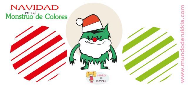 Carta Papa Noel del Monstruo de Colores   Papa noel, Noel y Papa