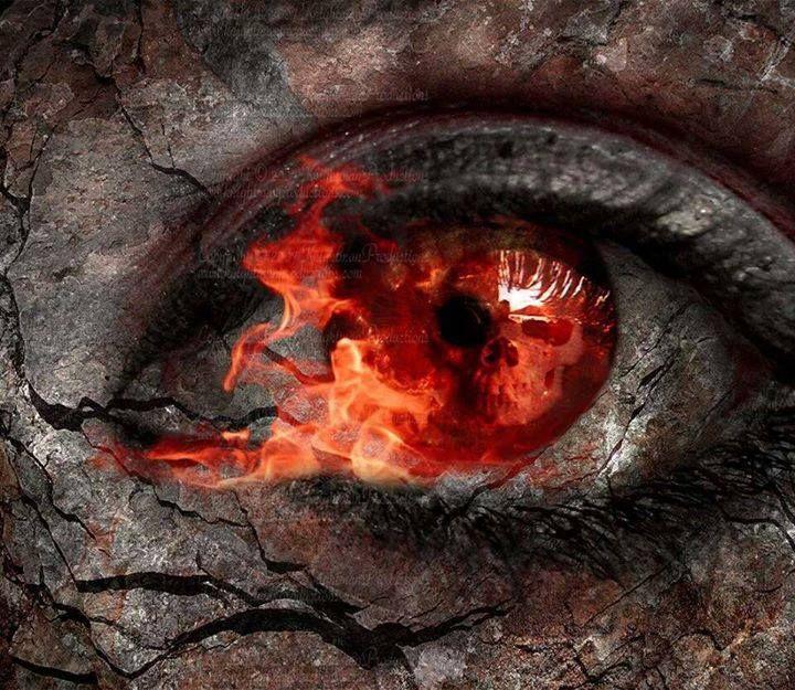 Fiery eyes | Fire eyes, Crazy eyes, Eyes artwork