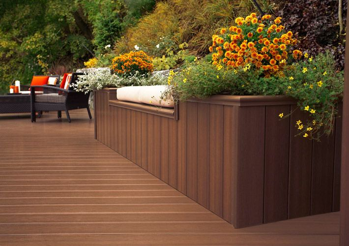 Fence And Deck Styles And Ideas Gallery Home Depot Canada Home Depot Canada Staining Deck Deck Stain Colors Exterior Decor