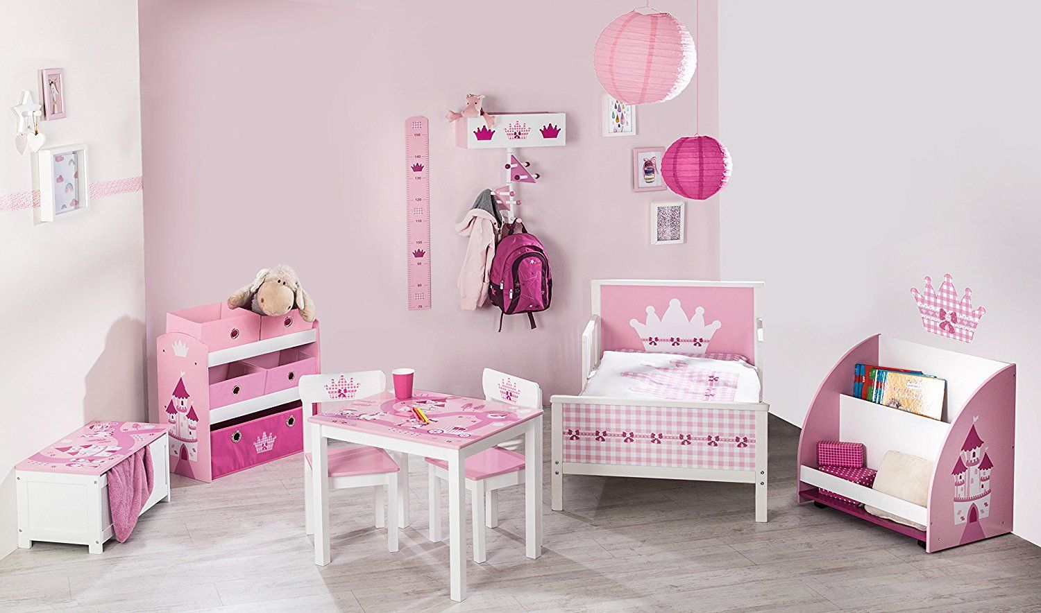 werbung rosa kinderzimmer f r eine kleine prinzessin kinderzimmer komplettsets rosa. Black Bedroom Furniture Sets. Home Design Ideas