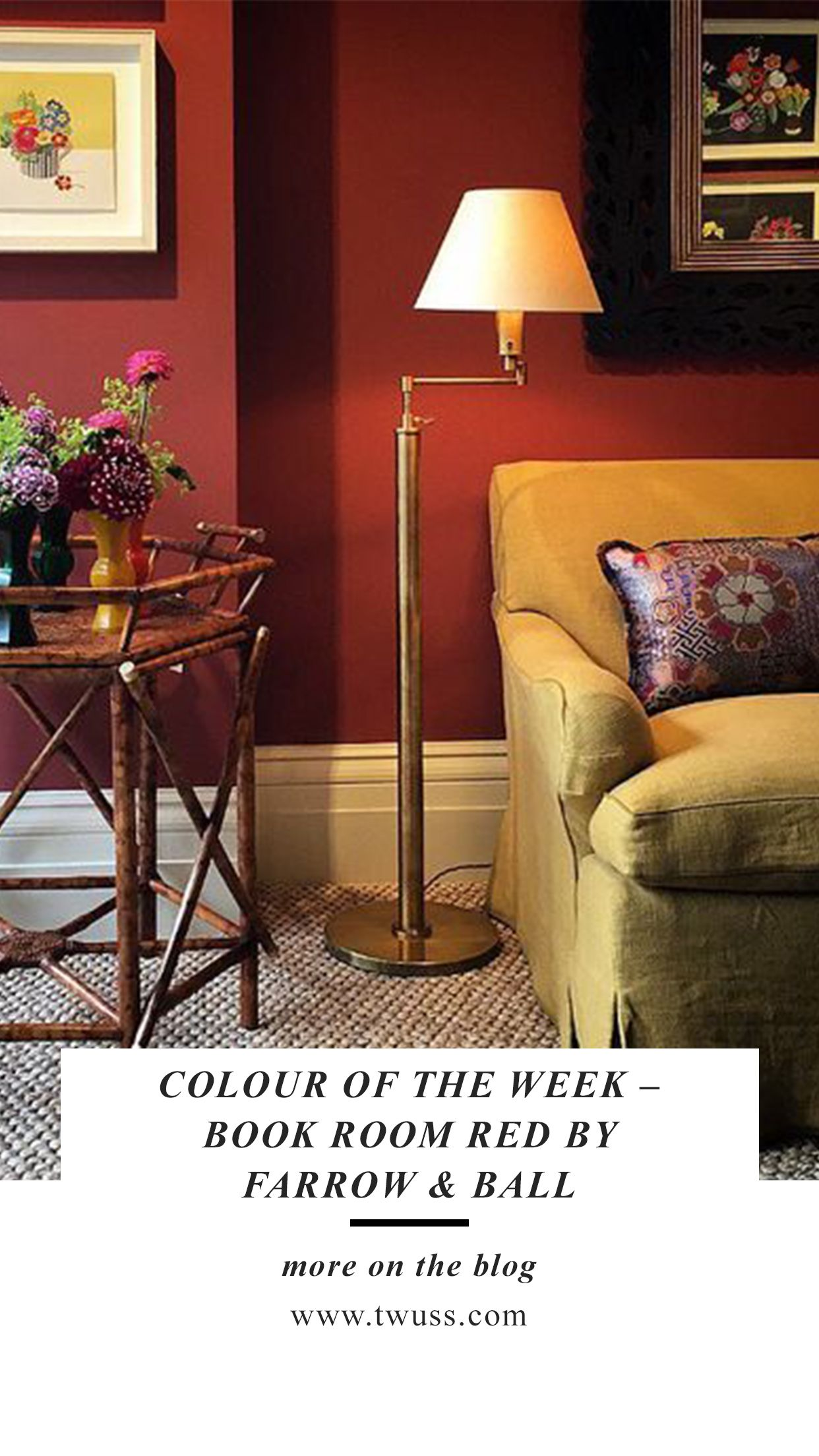 Farrow And Ball Bordeaux colour of the week – book room redfarrow & ball | farrow