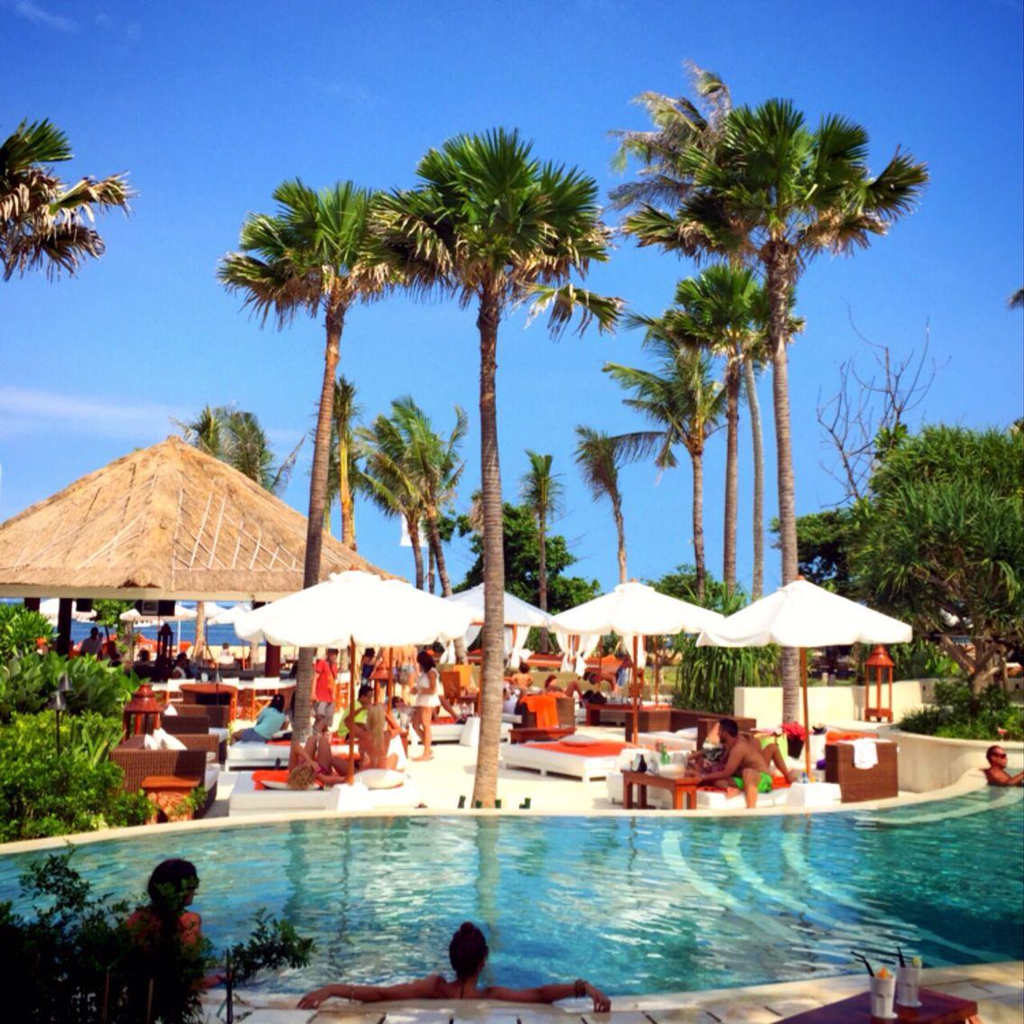 Happy time at Nikki Beach Club Bali Indonesia
