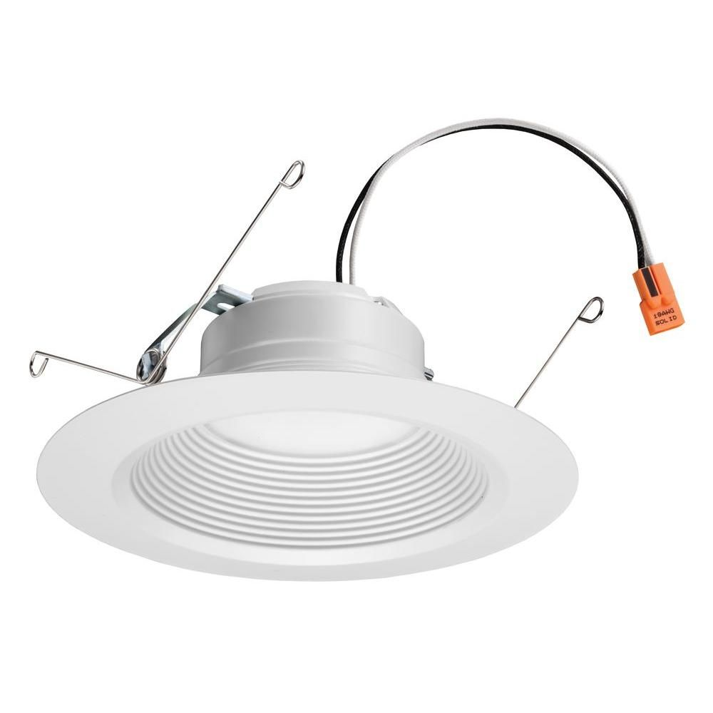 Lithonia Lighting E Series 5 In And 6 Matte White