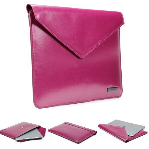 Original Urcover® Kunstleder Designer Apple Macbook Air   Tablet Tasche Hülle Sleeve dpark Style Notebooktasche Laptophülle 13 Zoll   Deutscher Fachhandel   Lila Pink Fuchsia 32,90€