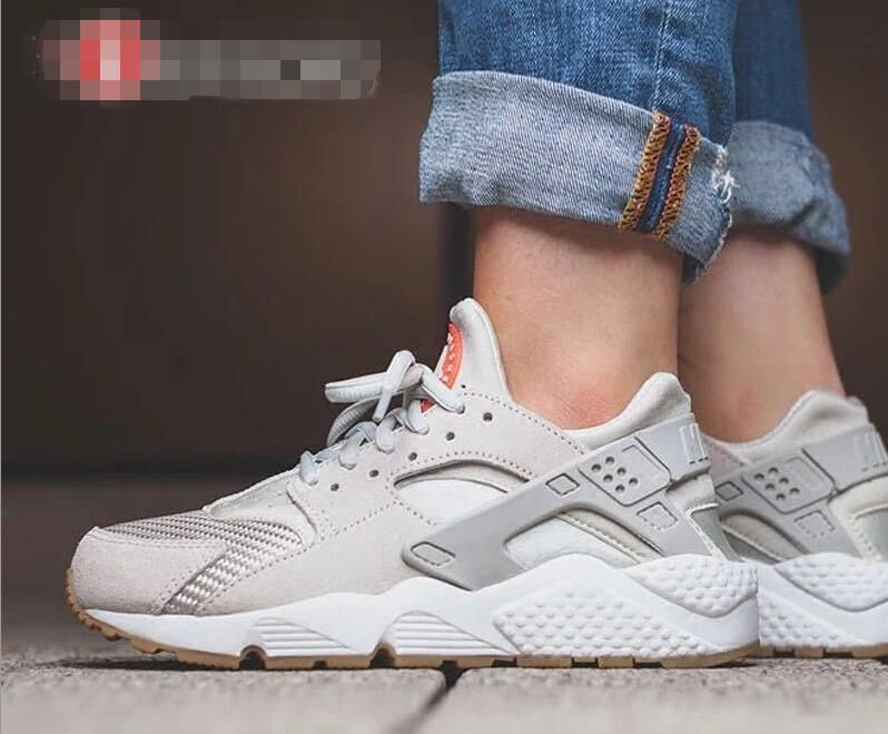best sneakers 523a1 b8348 Nike Air Huarache Easter TXT Light Bone 818597 001 On Feet