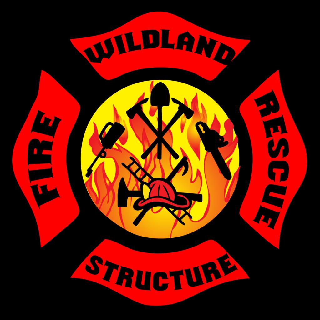 Wildland Firefighter Structure Firefighter Fire And Rescue Maltese Decal Wildland Firefighter Fire Emt Wildland Fire