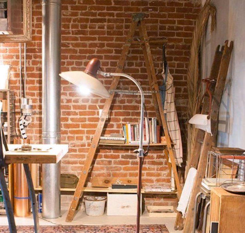 Idea to Steal: Ladder Bookshelf
